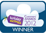 Holiday Extras Customer Awards Logo